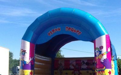 "le Clown Bounce ""Rebonds de folie"""